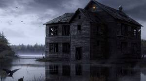 abandonedhousewithlight