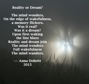 Reality or dream?