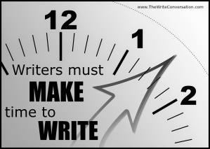 make time to write