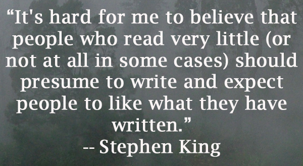 essay on writing by stephen king Free essays available online are good but they will not follow the guidelines of your particular writing assignment if you need a custom term paper on stephen king.