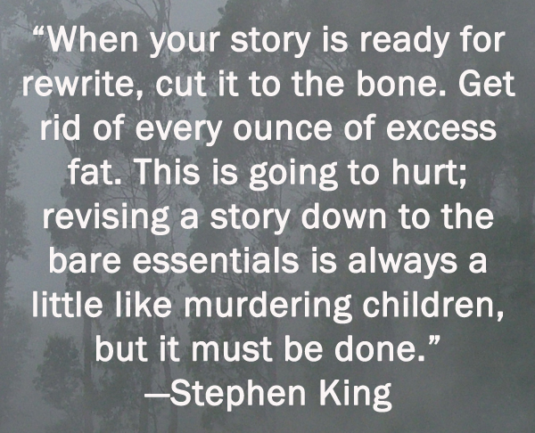 king statement stephen thesis View stephen king from business 240 at asu thesis statement: in on writing: a memoir of the craft, stephen king shows how passionate he is about the art of writing.