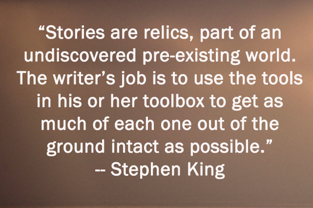 the writing of stephen king essay Free classification/division essay example on stephen king's horror.